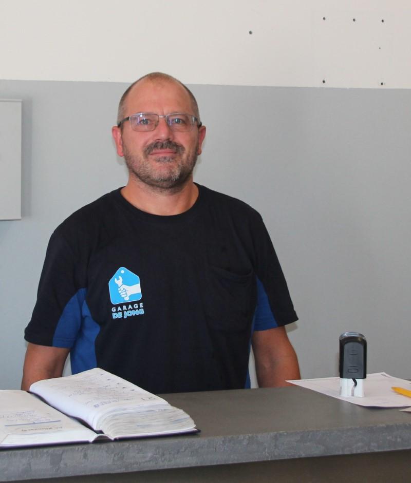Marcel de Jong van Garage de Jong
